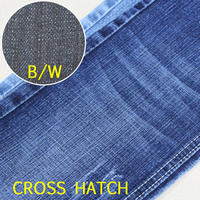 Blue color super strech tr denim fabric 648